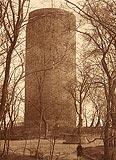 Zamek w Grudziądzu - Wieża zamkowa na zdjęciu Henryka Gąsiorowskiego z okresu międzywojennego