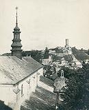 Zamek w Iłży - Iłża na zdjęciu Henryka Poddębskiego z 1932 roku