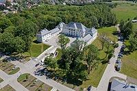 Zamek w Janowie Podlaskim - Zdjęcie z lotu ptaka, fot. ZeroJeden, VI 2019