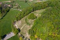 Zamek w Janowiczkach - Widok z lotu ptaka, fot. ZeroJeden, V 2020