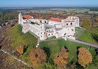 Zamek w Janowcu - Zdjęcie lotnicze, fot. ZeroJeden, X 2018