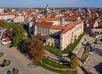 Zamek w Jaworze - Zdjęcie lotnicze, fot. ZeroJeden, X 2019