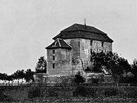 Zamek w Jędrzychowie - Zdjęcie Roberta Webera z 1909 roku