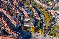 Zamek w Kaliszu - Zdjęcie lotnicze, fot. ZeroJeden, X 2019
