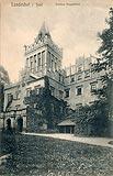 Zamek Grodztwo w Kamiennej Górze - Pałac w Kamiennej Górze w 1913 roku