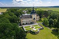 Zamek w Kamieniu Śląskim - Zdjęcie lotnicze, fot. ZeroJeden, VI 2020