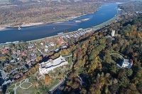 Zamek w Kazimierzu Dolnym - Zdjęcie lotnicze, fot. ZeroJeden, X 2018