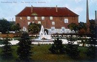 Zamek w Kętrzynie - Zamek na pocztówce z okresu międzywojennego