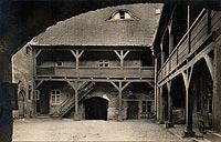 Zamek w Kętrzynie - Zamek na widokówce z okresu międzywojennego