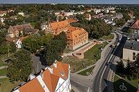 Zamek w Kętrzynie - Zdjęcie lotnicze, fot. ZeroJeden, IX 2021
