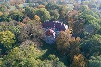 Zamek w Kijanach - Zdjęcie lotnicze, fot. ZeroJeden, X 2018