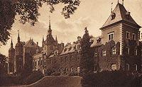 Zamek w Kliczkowie - Widok zamku z okresu międzywojennego