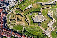 Zamek w Kłodzku - Zdjęcie lotnicze, fot. ZeroJeden, VII 2019