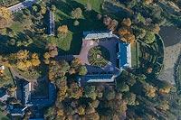 Zamek w Kocku - Zdjęcie lotnicze, fot. ZeroJeden, X 2018