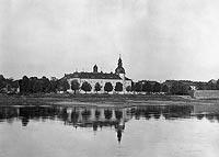 Zamek w Kostrzynie nad Odrą - Zamek w okresie międzywojennym