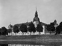 Kostrzyn - Zamek w latach 20. XX wieku