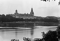 Zamek w Kostrzynie nad Odrą - Zamek w latach 20. XX wieku