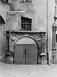 Kostrzyn - Portal od strony dziedzińca w 1907 roku
