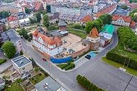 Zamek w Kędzierzynie-Koźlu - Zdjęcie z lotu ptaka, fot. ZeroJeden, V 2020