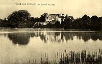 Krąg - Zamek w Krągu w początkach XX wieku