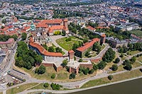 Zamek na Wawelu w Krakowie - Makieta znajduj�ca si� na zamku w Nowym Wi�niczu, fot. ZeroJeden, VI 2009