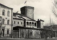 Zamek na Wawelu w Krakowie - Zamek wawelski na zdjęciu Adama Lenkiewicza z 1939 roku