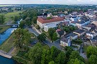 Zamek w Krapkowicach - Zdjęcie z lotu ptaka, fot. ZeroJeden, V 2020