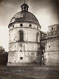 Zamek w Krasiczynie - Kaplica zamkowa na zdjęciu z lat 20. XX wieku