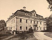 Zamek w Kraskowie - Robert Weber, Schlesische Schlosser, 1909