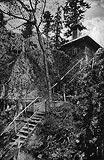 Zamek Pieniny w Krościenku - Zamek Pieniny na zdjęciu z okresu międzywojennego