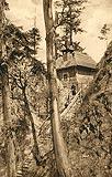 Zamek Pieniny w Krościenku - Ruiny zamku w roku 1905