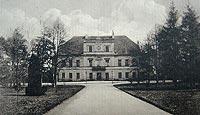 Zamek w Krotoszynie - Zamek na widokówce z 1915 roku