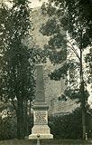 Zamek w Kruszwicy - Zamek w Kruszwicy na pocztówce z 1918 roku
