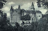Zamek Książ - Zamek w 1920 roku