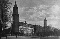 Zamek w Legnicy - Zamek w okresie międzywojennym