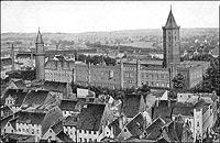 Zamek w Legnicy - Zamek legnicki w 1918 roku