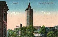 Zamek w Legnicy - Zamek w 1914 roku