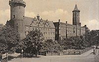 Zamek w Legnicy - Widok zamku w 1940 roku