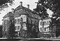 Zamek w Leśnicy - Pałac w Leśnicy w okresie międzywojennym