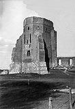 Zamek w Liwie - Zamek w Liwie na fotografii Greiffa z 1941 roku