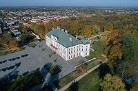 Zamek w Lubartowie - Zdjęcie lotnicze, fot. ZeroJeden, X 2018