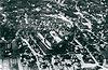 Zamek w Lublinie - Zamek w Lublinie na zdjęciu lotniczym z lat 30. XX wieku