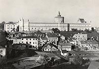 Zamek w Lublinie - Zamek w Lublinie na zdjęciu Adama Lenkiewicza z 1939 roku