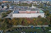 Zamek w Lublinie - Zdjęcie lotnicze, fot. ZeroJeden, X 2018