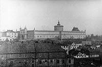 Zamek w Lublinie - Zamek w Lublinie na fotografii Greiffa z lat 1939-45