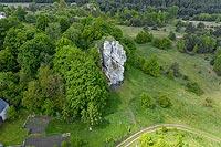 Łutowiec - Widok z lotu ptaka, fot. ZeroJeden, V 2020