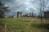 Zamek w Majkowicach - Widok od południowego-zachodu, fot. ZeroJeden, IV 2006