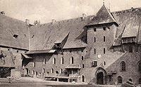 Zamek w Malborku - Zamek na widokówce w 1951 roku