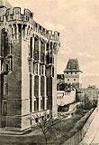Zamek w Malborku - Zamek na międzywojennej widokówce