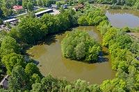 Zamek w Malcu - Zdjęcie z lotu ptaka, fot. ZeroJeden, V 2020